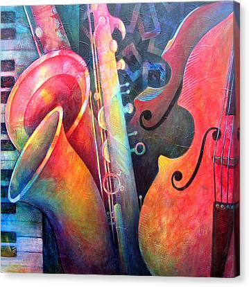 Jazz  Canvas Print by Susanne Clark