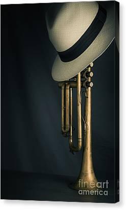 Jazz Trumpet Canvas Print by Carlos Caetano