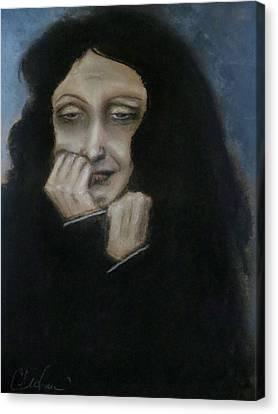 Je Ne Regrette Rien Canvas Print by C Pichura