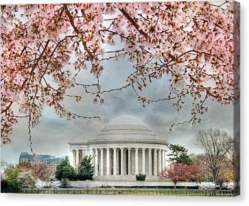 Jefferson Blossoms Canvas Print by Lori Deiter