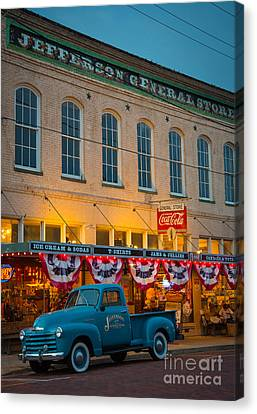Jefferson General Store Canvas Print by Inge Johnsson