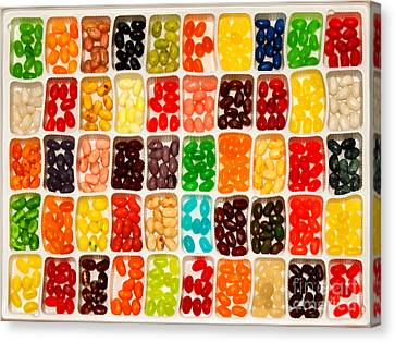 Jelly Beans Canvas Print by Anne Kitzman