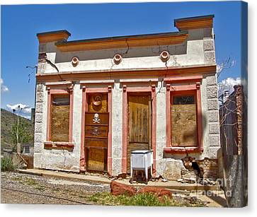Jerome Arizona - Miner Shack Canvas Print by Gregory Dyer
