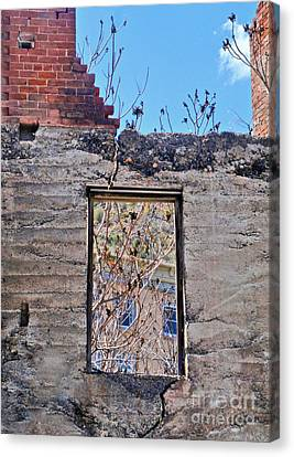 Jerome Arizona - Ruins - 02 Canvas Print by Gregory Dyer