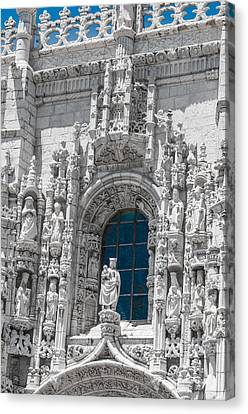 Jeronimos Monastry Church Lisbon Canvas Print by Paul Donohoe