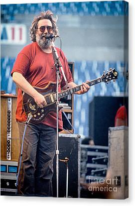 Jerry Garcia 1986 Canvas Print by Chuck Spang