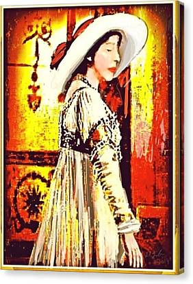 Jersey Lil Langtry Canvas Print by Larry Lamb