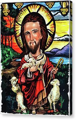 Jesus Christ Canvas Print by Art