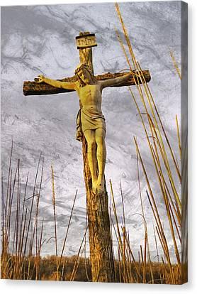 Jesus Christ  Canvas Print by Chris Berry