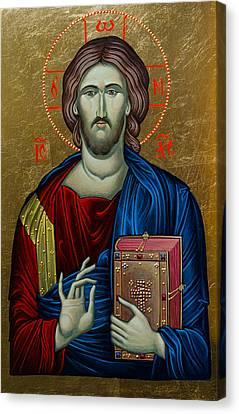 Jesus Christ Canvas Print by Claud Religious Art