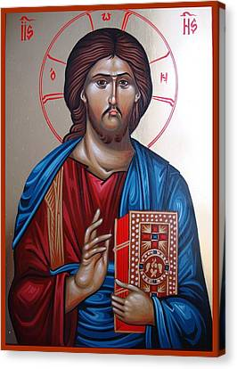 Jesus Christ Our Savior Canvas Print by Gianfranco Weiss