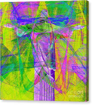 Jesus Christ Superstar 20130617p32 Square Canvas Print by Wingsdomain Art and Photography