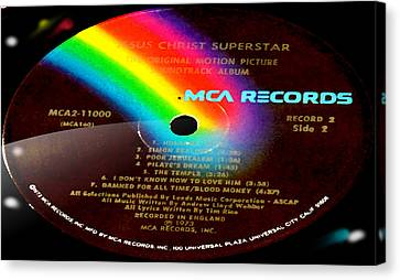 Jesus Christ Superstar Side 2 Canvas Print by Marcello Cicchini