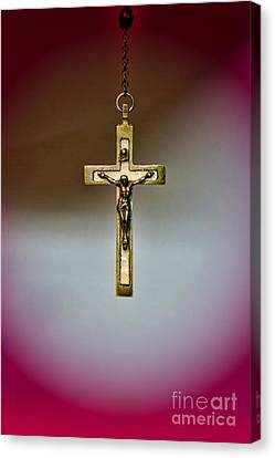 Jesus On The Cross 3 Canvas Print by Paul Ward