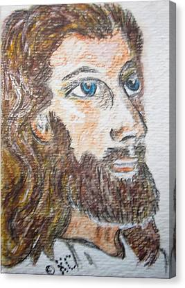 Jesus Our Saviour Canvas Print by Kathy Marrs Chandler