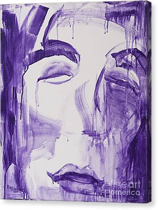 Jesus Pain Canvas Print by May Ling Yong