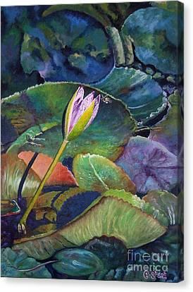 Jewel Canvas Print by Caroline Street