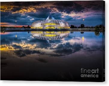 Jewel In The Night Canvas Print by Marvin Spates