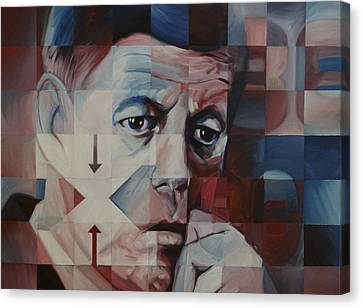 JFK Canvas Print by Steve Hunter