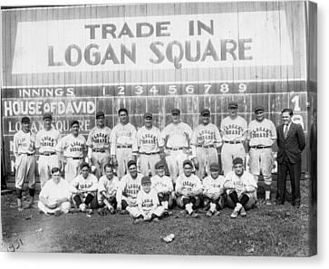 Logan Squares Semi-pro  Canvas Print by Retro Images Archive