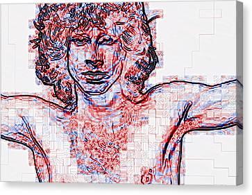 Jim Morrison Canvas Print by Skip Nall