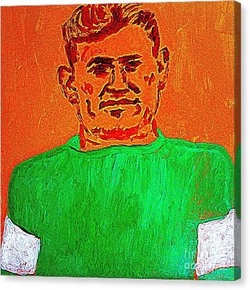 Jim Thorpe Wa Tho Huk Bright Path Canvas Print by Richard W Linford