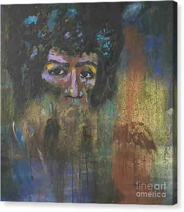 Jimi Hendrix Canvas Print by Vic  Mastis
