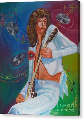 Jimmy Page 2 Canvas Print by To-Tam Gerwe