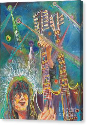 Jimmy Page Canvas Print by To-Tam Gerwe