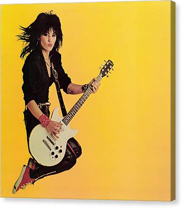 Joan Jett - Album 1983 Canvas Print by Epic Rights
