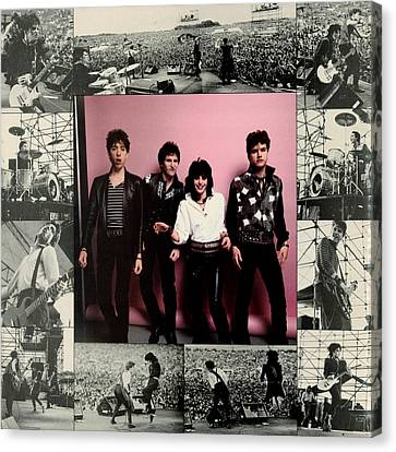 Joan Jett - Album 1983 - Inner Sleeve Canvas Print by Epic Rights