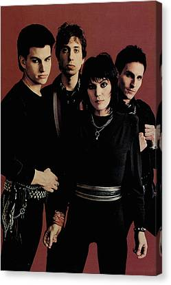 Joan Jett - I Love Rock 'n Roll 1981 - Back Cover Canvas Print by Epic Rights
