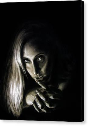 Joann  Canvas Print by Edward Pollick