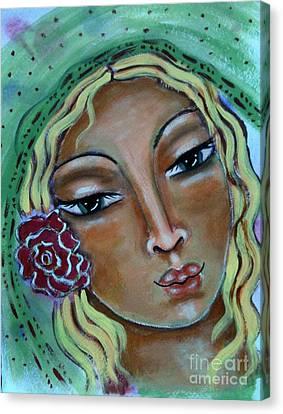 Joanna Canvas Print by Maya Telford