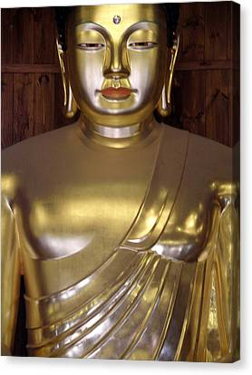 Jogyesa Buddha Canvas Print by Jean Hall