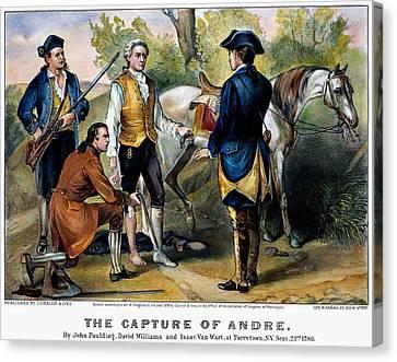 John Andre (1750-1780) Canvas Print by Granger
