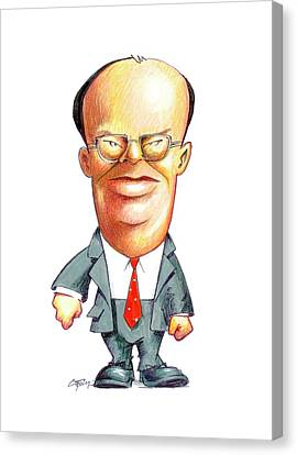 John Bardeen Canvas Print by Gary Brown