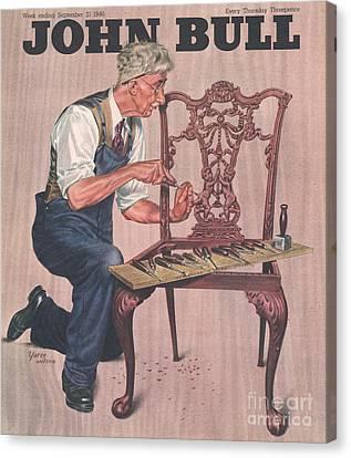 John Bull 1946 1940s Uk Diy Canvas Print by The Advertising Archives