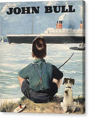John Bull 1946 1940s Uk Nautical Canvas Print by The Advertising Archives