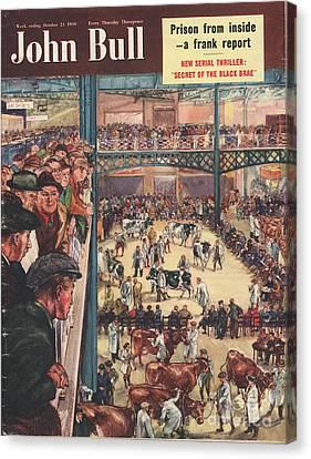John Bull 1950 1950s Uk Smithfield Canvas Print by The Advertising Archives