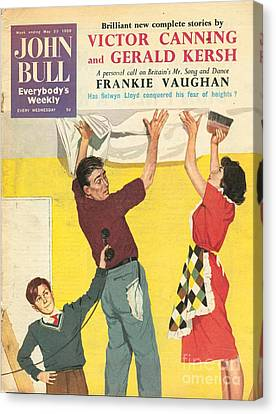 John Bull 1959 1950s Uk Decorating Diy Canvas Print by The Advertising Archives