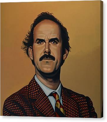 John Cleese Canvas Print by Paul Meijering