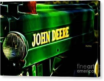 John Deere Canvas Print by Cheryl Young