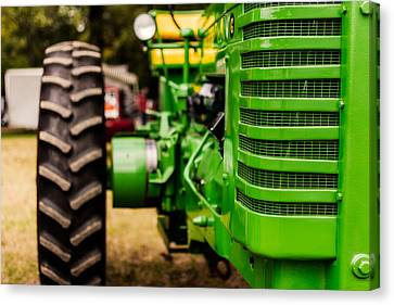 John Deere Model G Canvas Print by Jon Woodhams