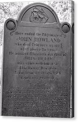 John Howland Canvas Print by Janice Drew