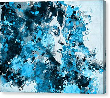 John Lennon 5 Canvas Print by Bekim Art