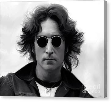 John Lennon Canvas Print by Paul Tagliamonte