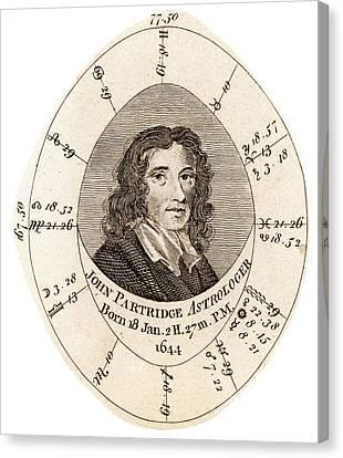 John Partridge Canvas Print by Universal History Archive/uig