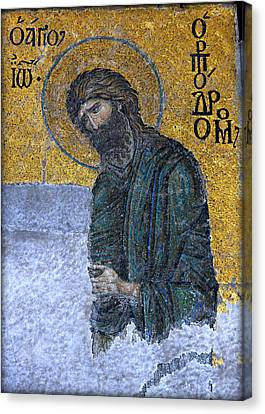 John The Baptist Canvas Print by Stephen Stookey