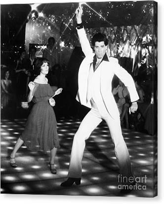 John Travolta (1954- ) Canvas Print by Granger